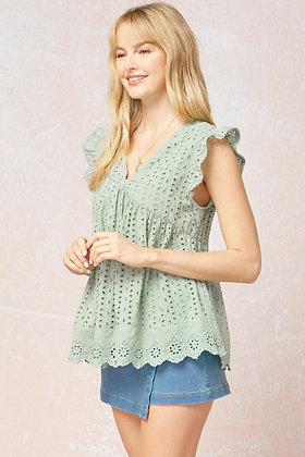 Spring Lace Top