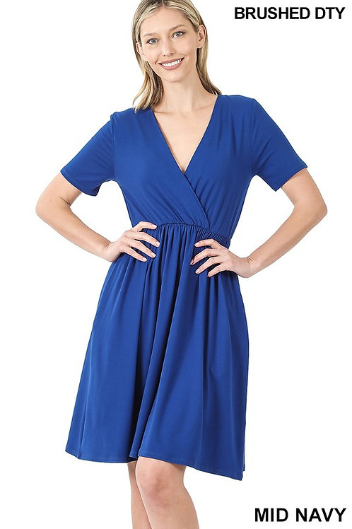 Blue Magnolia Dress