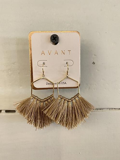 Frayed Earrings