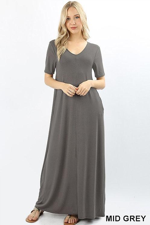 Short Sleeve Maxi