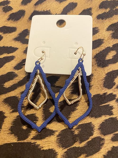 Royal Double Hoop Earrings