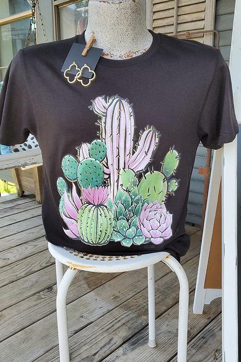 Cactus/Succulent Tee
