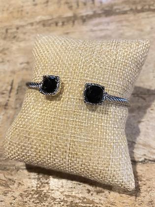 Black Gem Bracelet