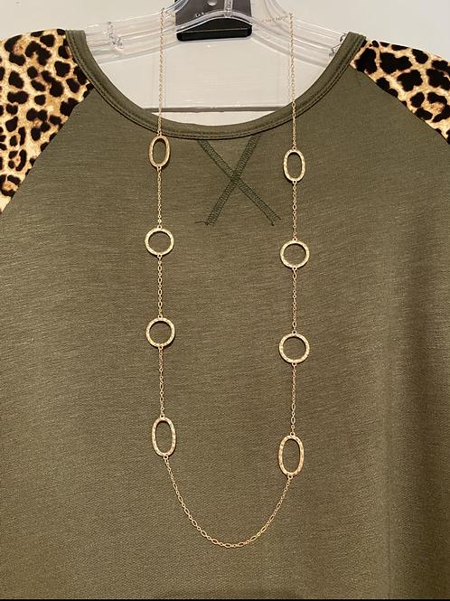 Round Design Necklace
