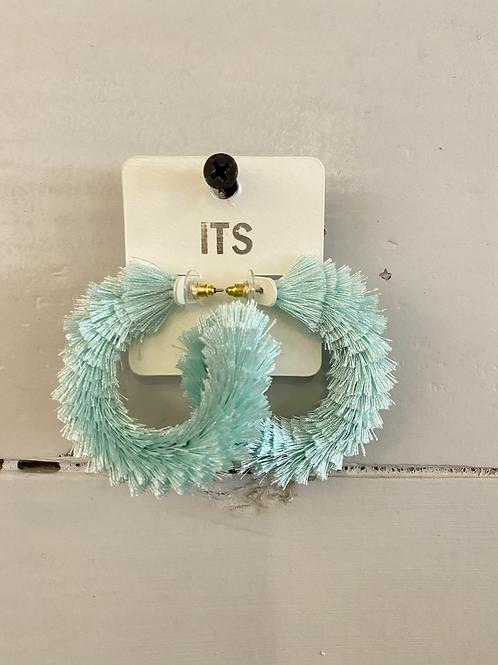 Seafoam Fray Earrings
