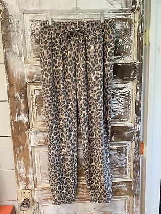 Leopard Joggers