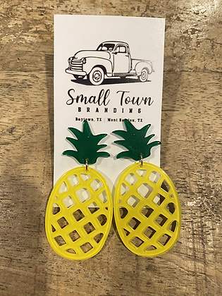 Pineapple Delight Earring