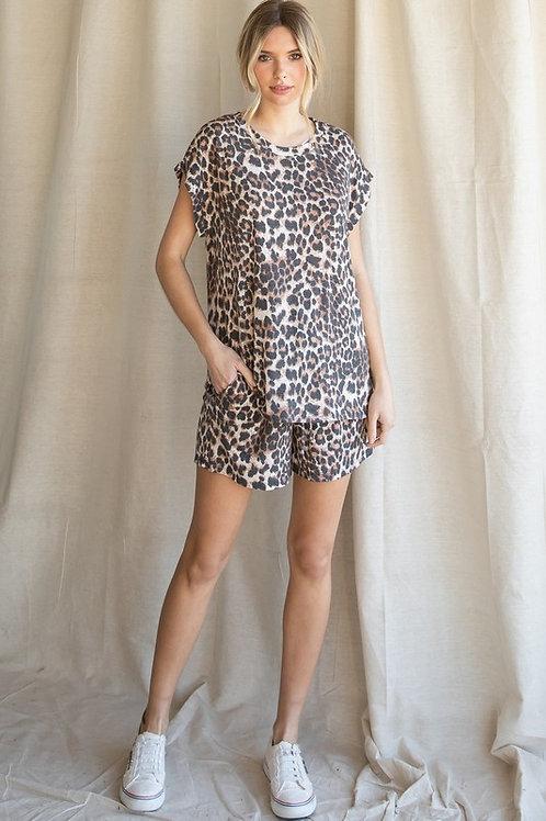 Leisure Leopard Set