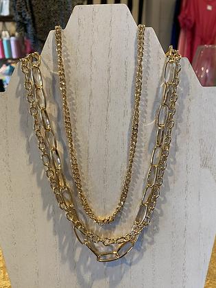 Serena Gold Necklace