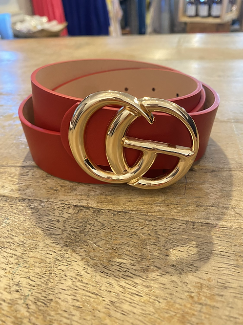 GG- Gold Buckle