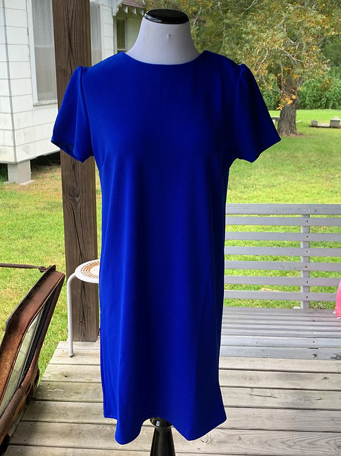 Go Big Blue Dress