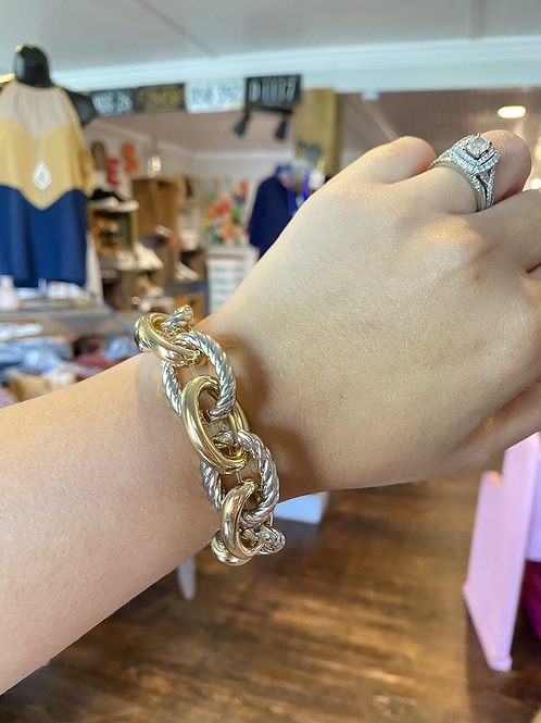 Chunky Hooped Bracelet