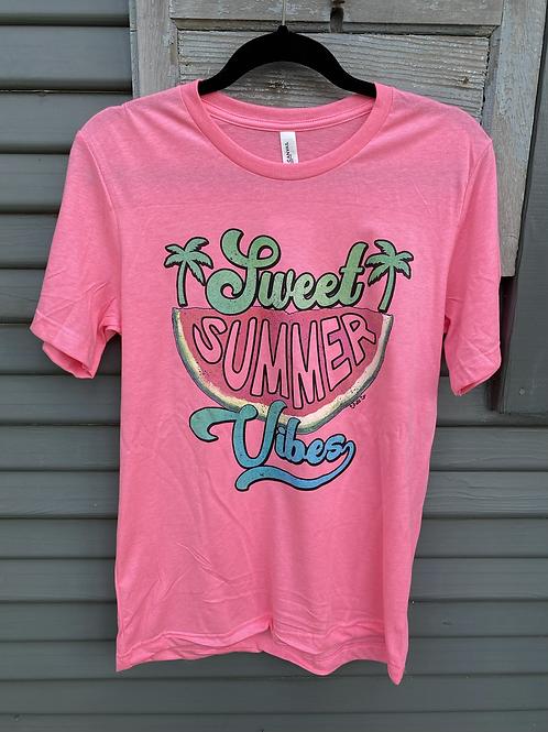 Sweet Summer Vibes Tee