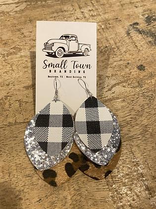 Buffalo/Leopard Earrings