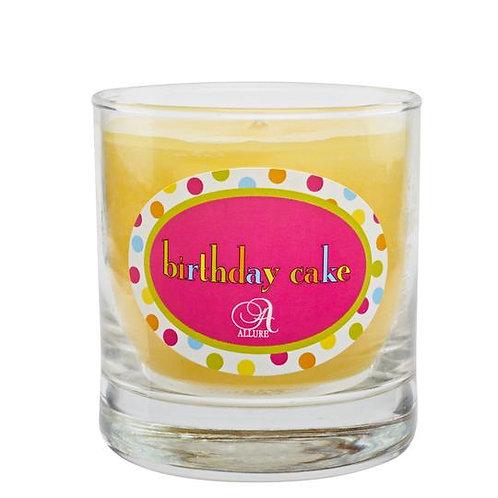 Allure- Birthday Cake 8 oz Candle