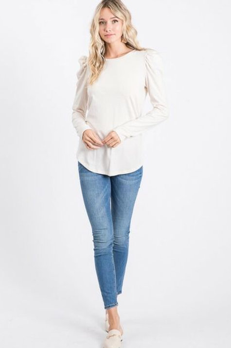 The Vintage Puff Top