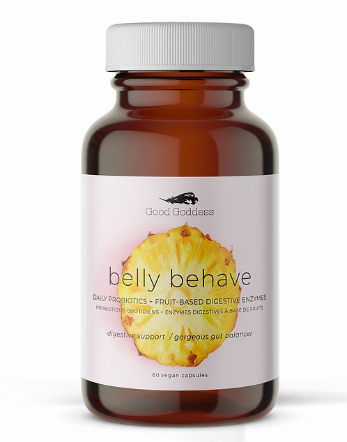 Belly Behave Digestive Enzyme + Probiotic