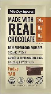 Fudge Yah Mid-Day Squares - 12 Pack
