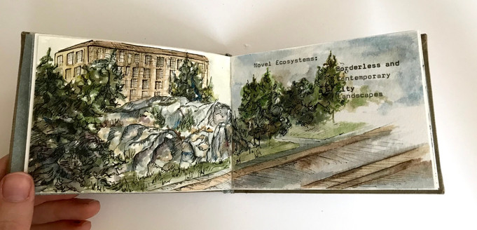 Novel Ecosystems: Borderless and Contemporary City Landscapes Pg. 1