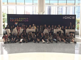 Waterloo CS @ the 2018 Grace Hopper Celebration!