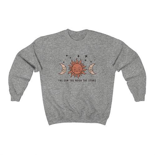 Th Sun Moon and Stars Crewneck Sweatshirt