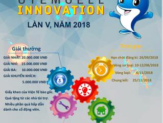 """Thông báo số 1: Tổ chức Cuộc thi """"STEM CELL INNOVATION"""" lần 5, năm 2018"""