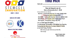 Tế bào gốc có thể phòng ngừa lão hoá? Hãy tham dự Chung kết SCI2018 để biết các đội thi phòng ngữa l