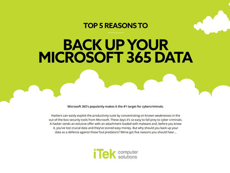 Why backup your Microsoft 365 data?