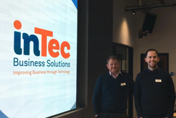 Ray Bell and Mark Armstrong from inTec Business Solutions