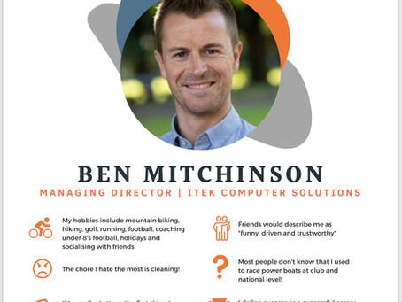 Meet Ben Mitchinson