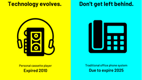 Technology evolves. Don't get left behind.