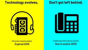 Technology evolves. Don't get left behind.