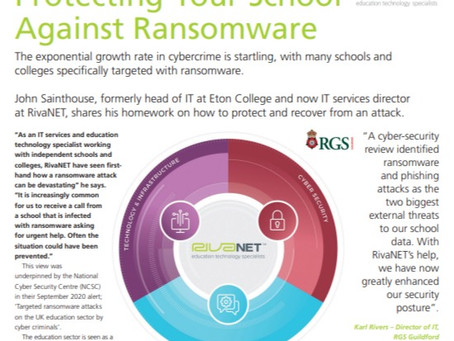 Protecting your school against ransomware