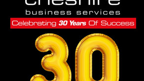 Cheshire Business Services celebrates 30 years of success!