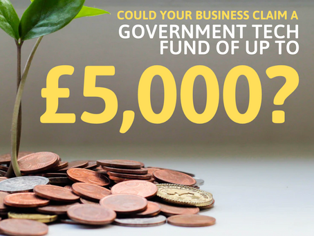 Could your business claim a £5,000 government grant?