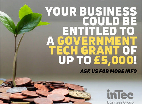 Government grants of up to £5,000!
