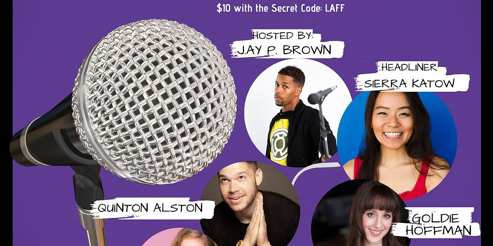JAY P. BROWN @ THE SECRET COMEDY CLUB
