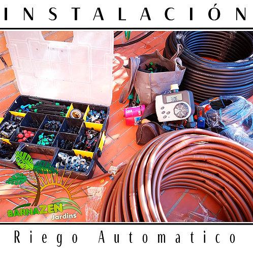 Instalación de Riego Automático