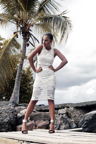 Vanessa en Martinique
