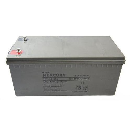 Mercury Inverter Battery 12V 200Ah (Nigeria)