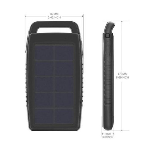 Nekteck 10000mAh Solar Battery Power Bank (Nigeria)