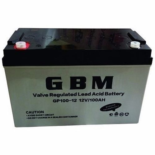 GBM 100Ah 12V Battery (Nigeria)