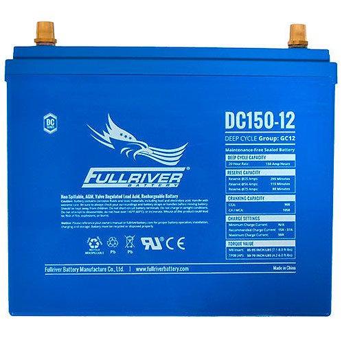 Fullriver 12V, 150Ah Solar/Inverter Deep Cycle AGM Battery (Nigeria)