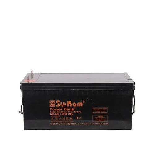 Sukam 200Ah 12V Inverter Battery (Nigeria)