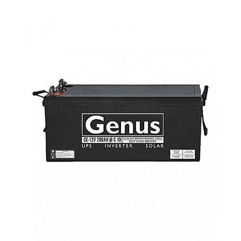 Genus 200Ah 12V Inverter Battery (Nigeria)