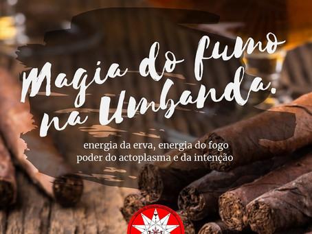 Magia do fumo na Umbanda