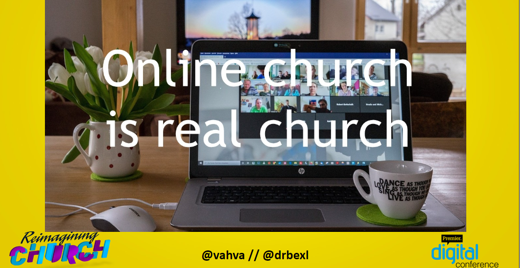 Online church is real