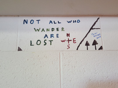 """""""Not all who wander are lost"""""""