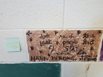 Abby's brick inspired by Taylor Swift