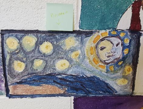 Brennans brick inspired by Van Gogh